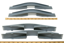 2pc 1979 Aurora Speedsteer Slot less Car Intersection OVERPASS BRIDGE PART 6055B - $8.90