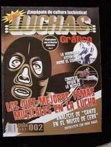 Super Luchas Grafico Wrestling 2/27/08 Mistico AKA Sin Caras Andre The G... - $14.99
