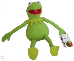 """Muppets Plush Kermit the Frog Disney Just Play 10"""" - $17.32"""