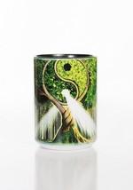 Yin Yang Tree Nature Harmony Ying Ceramic Coffee Mug Cup 15 oz Black - $19.79