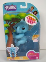 Fingerlings Baby Elephant Gray Blue Repeat and Record 40+ Sounds WowWee New  - $15.83