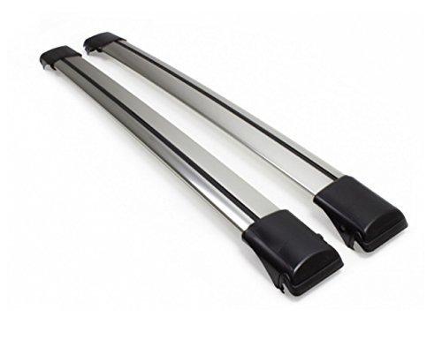 Lockable WingBar Aerodynamic Aluminium Cross Bars Roof Racks For Toyota Caldina