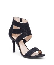 Women's Jessica Simpson Marlen Dress Sandals, Sizes 5.5-10 Black Snake JS-MARLEN - $71.96