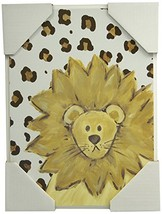 The Kids Room by Stupell Lion with Cheetah Print Rectangle Wall Plaque - $26.35