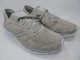 Saucony Kineta Relay Suede Men's Running Shoes Size 9 M EU 42.5 Grey S40006-2