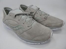 Saucony Kineta Relay Suede Men's Running Shoes Size 9 M EU 42.5 Grey S40006-2