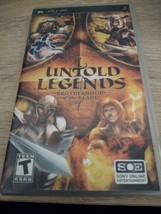 Sony PSP Untold Legends: Brotherhood Of The Blade image 1