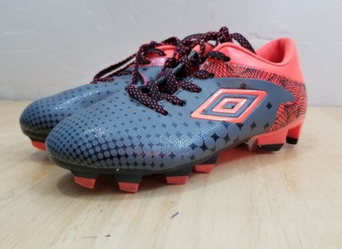 52af60cef 12. 12. Previous. Boys Umbro Soccer Cleats Size 1.5 Gray Orange Laces Shoes  Youth Girls