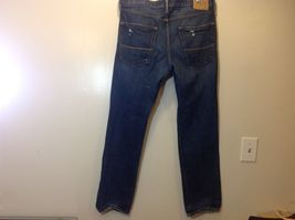 Abercrombie & Fitch Men's Fashionably Ripped Blue Jeans Sz 34/32 image 4