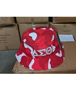 DELTA SIGMA THETA SORORITY RED WHITE Camouflage  Bucket Hat - $24.50