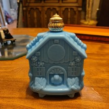 Avon Blue Milk Glass Decanter - $5.90