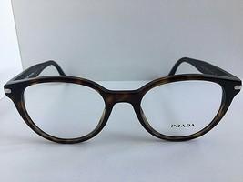 New PRADA VPR 0T7 2AU-1O1 50mm Round Tortoise Women's Eyeglasses Frame  #4 - $149.99