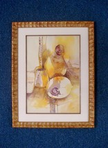 CA Artist Charlotte Valestra Still Life Watercolor Painting Signed 01620 - $245.00