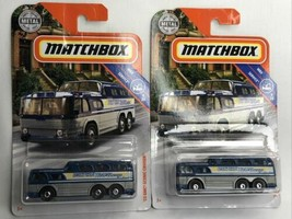 2x MATTEL MATCHBOX '55 GMC SCENIC CRUISER VINTAGE COLLECTIBLES RARE LOT ... - $14.00