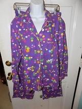 Victoria's Secret 2 PC Purple Polka Dot Pajama's Size S Women's EUC - $21.06