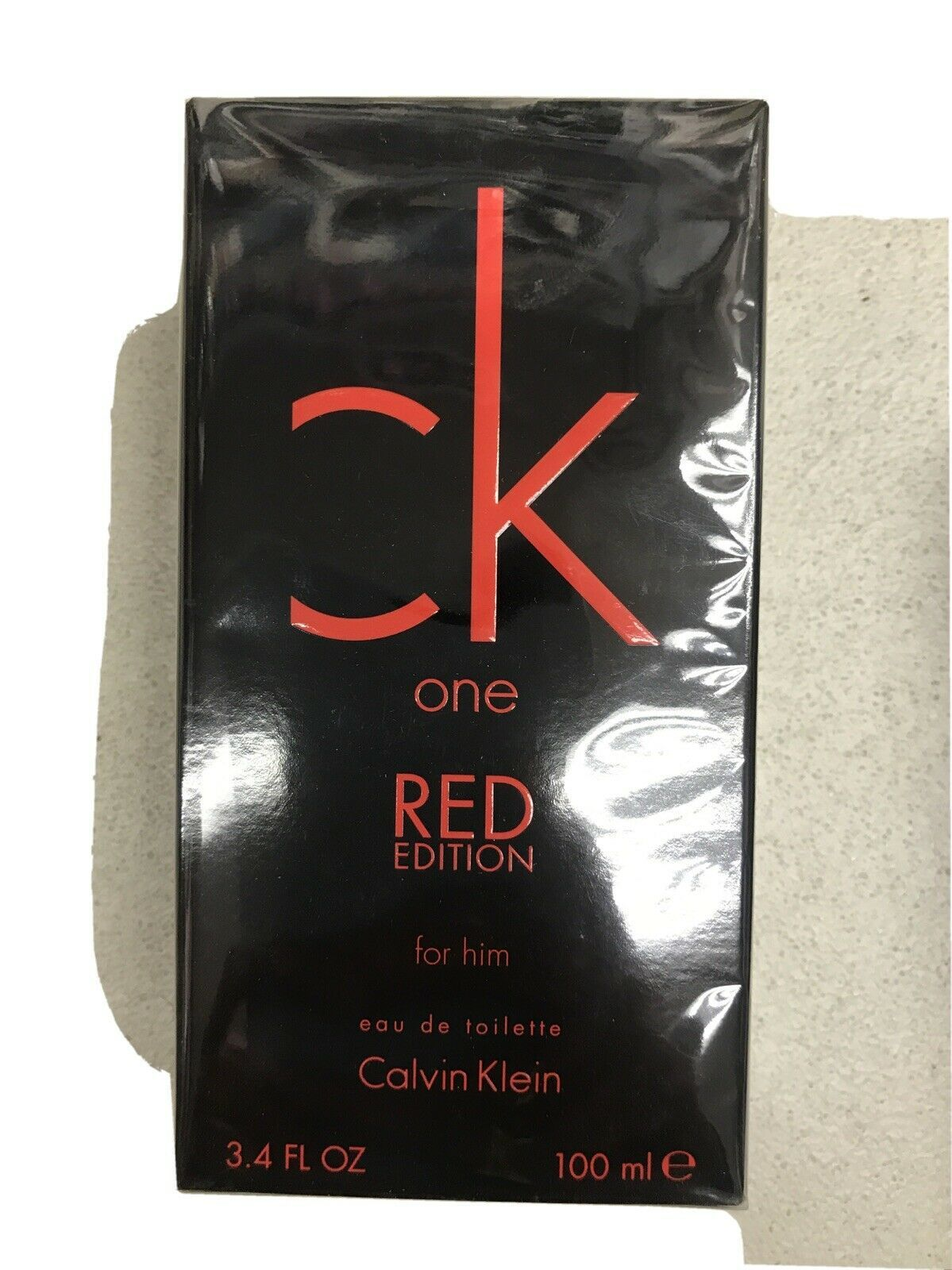 Aaaaaacalvin klein red cologne 3.4 oz cologne