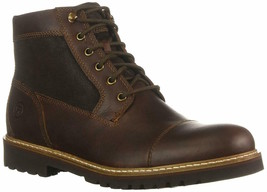 Mens Rockport  Marshall Rugged Cap Toe Ankle Boot - Saddle Brown Size 9 ... - $79.99