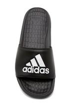 Adidas Volomix Slide Sandal for Men in Black Sizes 7 to 15 - $24.99