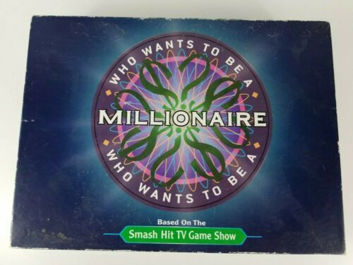 Primary image for Who Wants To Be A Millionaire Board Game 2000 Pressman