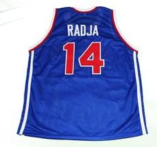 Dino Radja #14 Jugoslavija Yugoslavia Basketball Jersey New Sewn Blue Any Size image 5