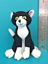 """Kidpower Little Bear Black White Kitty Cat 5"""" Bean Bag Plush Maurice Sen... - $25.95"""