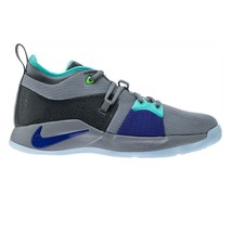 Nike PG 2 GS Platinum Gray Turquoise Blue Playstation Paul George 943820 002 - $74.95