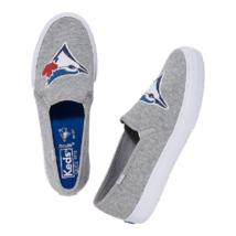 KEDS Double Decker MLB Blue Jays Sneakers Grey ( 8.5 ) - $89.97