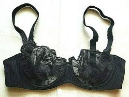 32D Simone Perele Nina Sheer Lace Underwire Demi 185330 - $55.42