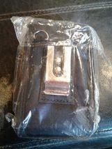BLACK NYLON POUCH CASE METAL CLIP HOOKS image 3