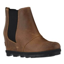 Sorel Women's Joan Of Arctic Wedge II Chelsea Boots NEW AUTHENTIC Elk NL... - $159.99