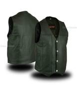 Bike Motorcycle Vests Single Back Panel Concealed Carry Vest by Daniel S... - $63.95+