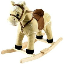 Happy Trails Rocking Lil' Henry the Horse - Tan~ Free Shipping New - $91.36