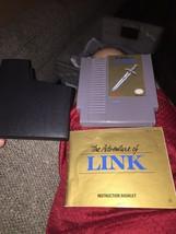 Zelda II: The Adventure of Link  (Nintendo NES 1992) Grey Cart and Manual - $24.18