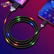 2A Fast Charging Type C Cable Samsung S10 S9 LED Voice Control USB Xiaomi Redmi - $11.97