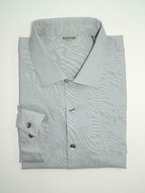 Kenneth Cole Men's Dress Shirt Grey Slim Fit Size 17 1/2 32/33 - $16.88