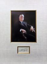 Franklin D Roosevelt Original Autograph - $1,386.00