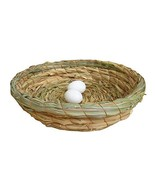 Pigeon Nest Straw Bird Nest Egg Nest Flat Bottom Nest Dove Nest-2321 CM - $14.60