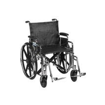 Drive Medical Sentra With Desk Arms and Footrests 20'' - $380.20