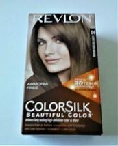 Revlon Colorsilk Permanent Hair Dye #54 Light Golden Brown NEW IN BOX - $7.25