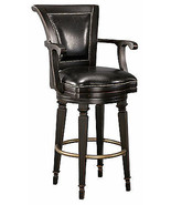 Howard Miller 697-009 (697009) Northport Bar Stool swivel, faux leather ... - £843.91 GBP