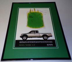 2000 Toyota Tacoma Framed 11x14 ORIGINAL Advertisement - $34.64