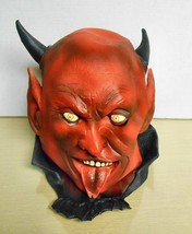 1996 Ilusive Concepts Inc Devil Full Head Latex Mask - $19.79