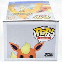 Funko Pop! Games Pokemon Flareon #629 Vinyl Action Figure image 6