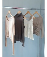 Lot of 4 Women's Mikey & Joey, tresics, See You Monday, Nabee Tops Size M - $20.89