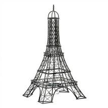 Eiffel Tower Black Metal Candle Holder - £21.87 GBP