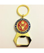 """Colorful """"The Great Seal of America"""" Red /Gold Spinnig Centre Bottle Ope... - $4.49"""