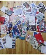 113 Unused Vintage Christmas Cards - $49.50