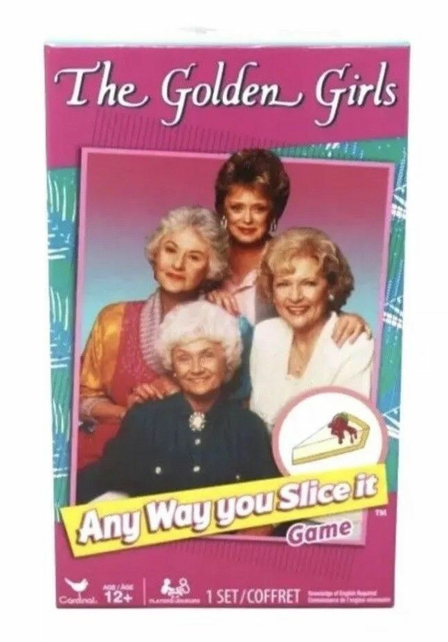 "Primary image for The Golden Girls ""Any Way You Slice It""  Trivia Game By Cardinal Test Knowledge"