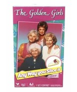 """The Golden Girls """"Any Way You Slice It""""  Trivia Game By Cardinal Test Kn... - $16.00"""