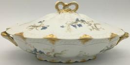 Haviland Limoges Schleiger 229A Oval covered vegetable bowl  - $100.00